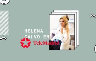 Helena Calvo en Telemadrid